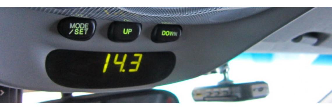 LCD Auto - вольтметр